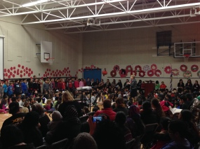 Remembrance Day Assembly 2013
