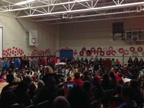 Remembrance Day Assembly 2013