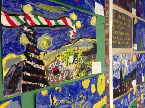Division 4 painting like Van Gogh