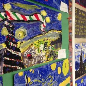 Division 4 painting like Van Gogh