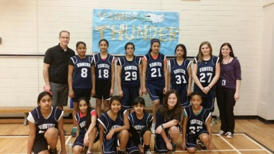 Congratulations Girls Basketball team on a successful season of learning and a 2nd place playday finish on February 20, 2014.