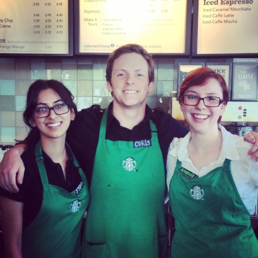 We appreciate the staff of the London Station Starbucks for supporting Georges Vanier!