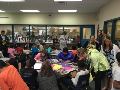 Special guests from Discovery Education visit GV