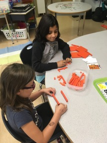 learning with math materials
