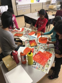 Creating Fall Leaves