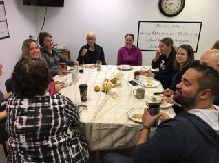 Staff Pancake Breakfast - We Are Thankful!