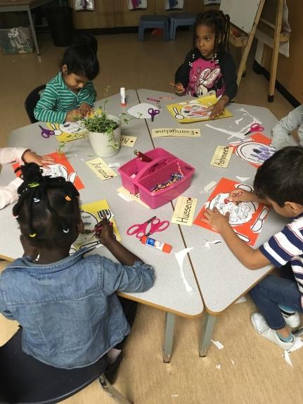 Kindergarten Students Are Thankful