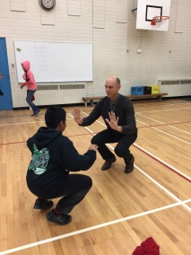 Mr. Dekerf Tries The Warm-up Too!