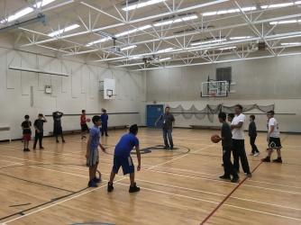 GV Basketball Season