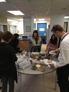 GV Teacher SEL Dinner Meeting