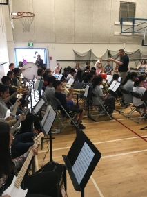 Our Grade 7 Band