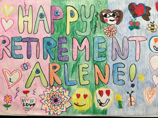 Happy retirement Ms. Griffiths