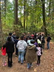 buddy classes learning outdoors