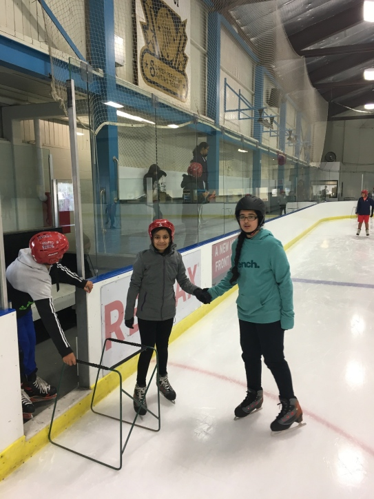 Ice Skating with Div. 1