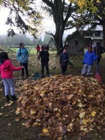 Grade 6/7 Field Trip to Ms. Unrau's Farm